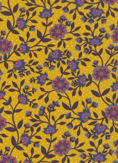 100% cotton Liberty Tana Lawn.    Approximately 137cm in width.     The Strawberry Thief, State Room, Liberty Art Fabrics, Yellow Pattern, Background Templates, Star Shape, Textile Design, Lawn, Oriental