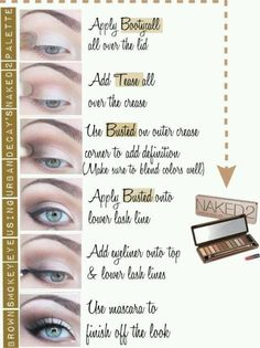 Urban Decay Naked Palette 2 tutorial beauty shimmer smokey smoky naked2 tutorial makeup tips + ideas eyes eyeshadow makeup eyeshadow inspiration urban decay