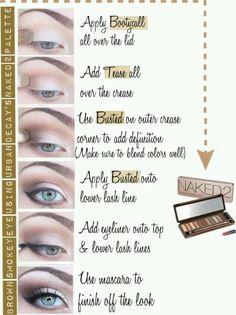 Urban Decay Naked Palette 2 tutorial #beauty #shimmer #smokey #smoky #naked2 #tutorial makeup tips + ideas #eyes #eyeshadow makeup eyeshadow inspiration #urbandecay