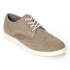 My newest pair. Feel like a sneaker look like grown-up dress shoes!!!! Absolutely awesome!! Work with jeans, khakis, and even a suit. Would look great sockless with a skirt or capris too! SONOMA life + style Wingtip Oxford Shoes - Men