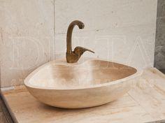 Bathroom Collection Sinks | Mardin Classic Travertine Sink (DLT 720)