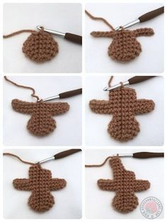 Gingerbread man free crochet pattern - knitting is as easy as 3 D . , Gingerbread man free crochet pattern - knitting is as easy as 3 D . Crochet Christmas Decorations, Crochet Ornaments, Christmas Crafts, Crochet Ornament Patterns, Homemade Christmas, Christmas Holidays, Knitting Projects, Crochet Projects, Crochet Tutorials
