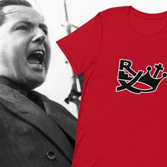 Parti Rexiste a. the Rexist party was a nationalist party active in Belgium from 1935 until 1945 founded by Léon Degrelle. Right Wing, Hoodies, Sweatshirts, Belgium, Store, Party, Mens Tops, T Shirt, Supreme T Shirt