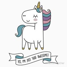 www.beautifulmum.co.uk Unicorn Drawing, Unicorn Art, Amazing Drawings, Easy Drawings, Hump Day Humor, Unicorn Store, Unicorn Quotes, Unicorn Illustration, Apple Watch Wallpaper