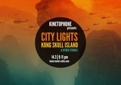 Listen again to CITY LIGHTS FILM MUSIC RADIOSHOW: Kong Skull Island & Other Stories Light Film, Skull Island, City Lights, Community, Board, Music, Movie Posters, Image, Musica