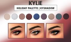 HOLIDAY PALETTE KYSHADOW | Hallow-Sims