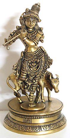 Lord+Krishna+(Brass))+