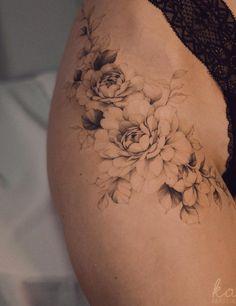 Elegant Tattoos, Dainty Tattoos, Pretty Tattoos, Mini Tattoos, Unique Tattoos, Flower Tattoos, Body Art Tattoos, Small Tattoos, Sleeve Tattoos