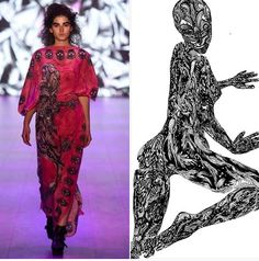 Johny Dar took DAR the BOOK live on the runway...  Check out the audio-visual remix from the show featuring #originalartwork from DAR the BOOK @ https://vimeo.com/101636066  #wearableart #dare #darthebook #turnupthevolume  www.darthebook.com www.johnydar.com www.facebook.com/DARtheBOOK