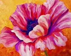 Pink Poppy by Marion Rose