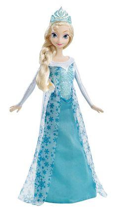 Amazon.com: Disney Frozen Sparkle Princess Elsa Doll: Toys & Games