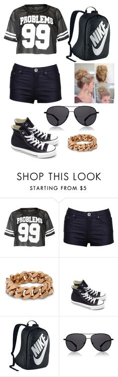 """""""Weekend Outfit"""" by tay-5702 on Polyvore featuring STELLA McCARTNEY, Converse, NIKE and The Row"""