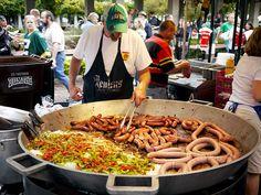 oktoberfest food   oktoberfest sausages food festival beer