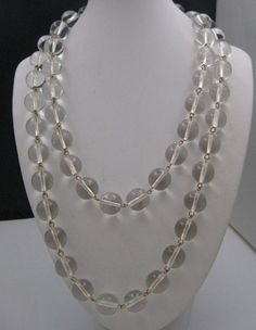Pools Of Light Crystal Necklace 1980