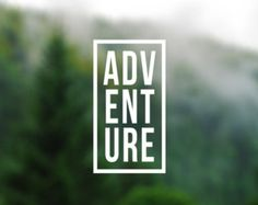 CAMP Decal Adventure Sticker Arrows Decal Car by Designs4evershop