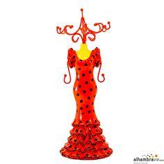 Maniqui flamenca rojo