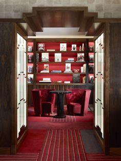 Mayfair, London   Luxury Hotel Design   Library