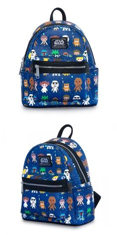 85ba4d87bf7 Backpacks and Bookbags 169292  Loungefly X Star Wars Baby Character Print  Mini Faux Leather Backpack