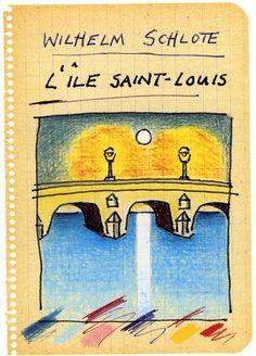Cartoonist Wilhelm Schlote lives near the Jeu de Paume Hotel.  http://www.jeudepaumehotel.com/