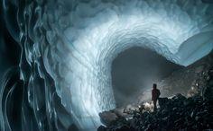 Ice Cave at Mt Rainier