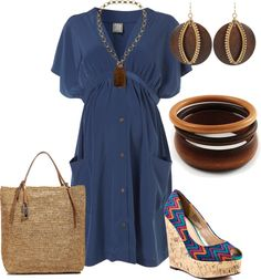 """Maternidad"" by outfits-de-moda2 ❤ liked on Polyvore"