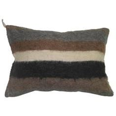 Mohair Rug Pillow | From a unique collection of antique and modern more carpets at https://www.1stdibs.com/furniture/rugs-carpets/area-rugs-carpets/