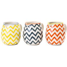 General Eclectic Chevron Milk Jug   Iko Iko, the most exciting shop for gifts, homewares, accessories and more.