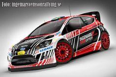 ra RALLY LIVERY - Ingemar Svenssons WRC Fiesta - Rally Sweden
