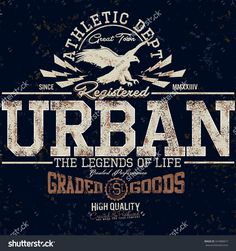 Varsity Graphics,College Graphics For T-Shirt,Urban Athletic Department,College…