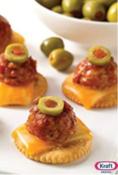 Salsa Meatball Tapas - Make this appetizer for a fun and flavorful addition to your next party or tailgate!