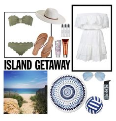 """Contest: Island getaway Part 2"" by luciii5430 ❤ liked on Polyvore featuring LoveShackFancy, Aéropostale, Marysia Swim, Melissa Odabash, By Terry, The Beach People, Sunnylife, Byredo, Victoria Beckham and Summer"