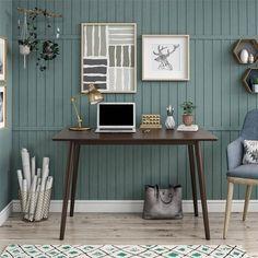 Brittany Desk – The Novogratz Green Home Offices, Home Office Colors, Home Office Space, Home Office Design, Home Office Furniture, Home Office Decor, Home Decor, Modern Home Offices, Bedroom Office