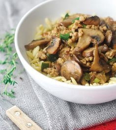Mushroom Stew with Pork