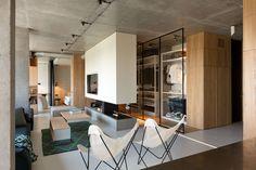 Un penthouse modulable |MilK decoration