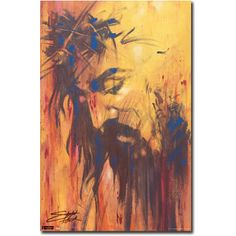 Stephen Fishwick Jesus art print poster. Beautiful. I wish I could paint like this.