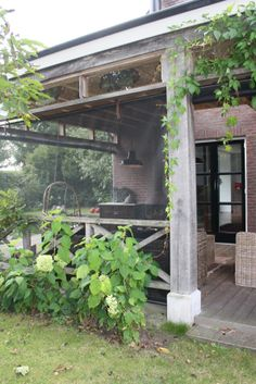 1000 images about veranda met een wegwind on pinterest ea abs and d - Terras beschut ...