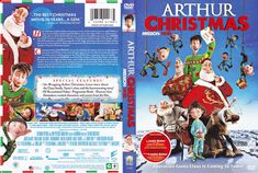 Arthur Christmas DVD Cover