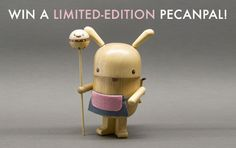 ENTER TO WIN: Limited-Edition Pecanpal Toy   Print! | Inhabitots