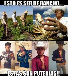 Dé rancho. Gente verdadera