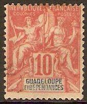 1900 - Guadalupe  es un pequeño archipiélago de las Antillas, en el mar Caribe que forma una región de ultramar de Francia y una región ultraperiférica de la Unión Europea