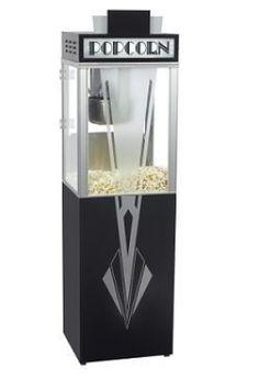 Art Deco style popcorn machine