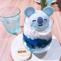 Japan Candy Box on Pin callmechin Kreative Desserts, Cute Baking, Kawaii Dessert, Food Goals, Cafe Food, Aesthetic Food, Korean Aesthetic, Blue Aesthetic, Coffee Art