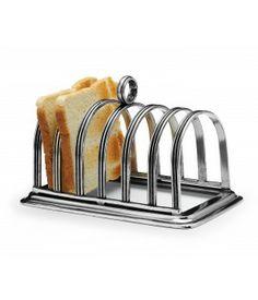 Porta toast in peltro cm 9x16x12