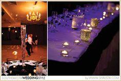 Sioux Falls, SD Wedding by Shalista Photography Purple, White at El Raid Shrine