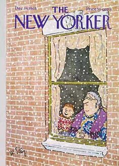 The New Yorker. Christmas time.
