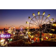 A Top 5 guide to the California State Fair ❤ liked on Polyvore featuring backgrounds, art, extra, pictures and places