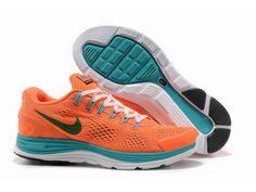 Men's Nike LunarGlide 4 - Orange/Blue My kind of shoes