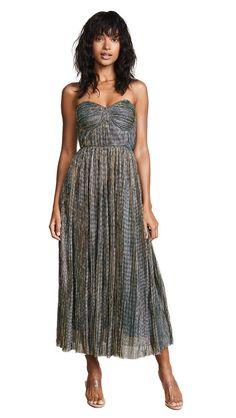 cc2e1fa124b5 33 chic dresses under $100. Glamorous Metallic Strapless Dress Ol Fashion,  China Fashion,