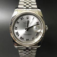 Rolex Datejust 116234 Silver Roman Dial