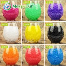 1200 pcs Crystal Mud Soil Water Beads Bio Gel Ball For Flower/Weeding/Decor(China (Mainland))